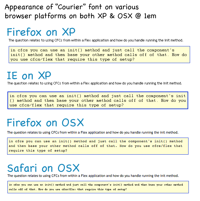 Font rendering in browser platforms   The Saj - S A S S I E